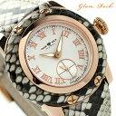 グラムロック マイアミ 40mm スモールセコンド 腕時計 GR40035 Glam Rock クオーツ シルバー レザーベルト【あす楽対応】