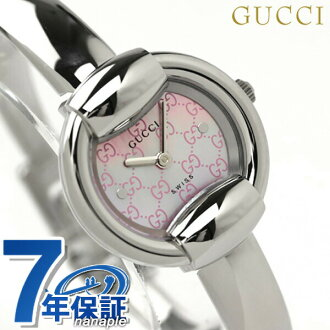 Gucci by GUCCI 1400 watches ladies pink shell YA014513