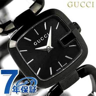 Gucci watches Womens G Gucci black GUCCI YA125504
