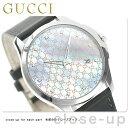 グッチ Gタイムレス スリム ダイヤモンド メンズ 腕時計 YA126307 GUCCI グレーシェル×グレー【あす楽対応】