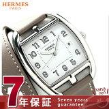 エルメス ケープ コッド トノー 34mm 二重巻き レディース CT1.710.130.WW181 HERMES 腕時計 クオーツ レザーバンド ホワイト×グレージュ 新品