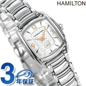 Hamilton Bagley seconds palocci H12351155 HAMILTON ladies watch quartz silver