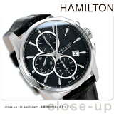 [新货][2年保证][]汉密尔顿自动上弦 爵士乐主人otokurono 男式H32596731手表HAMILTON 黑[[新品][2年保証][]ハミルトン 自動巻き ジャズマスター オートクロノ メンズ H32596731 腕時計 HAMILTON ブラック]