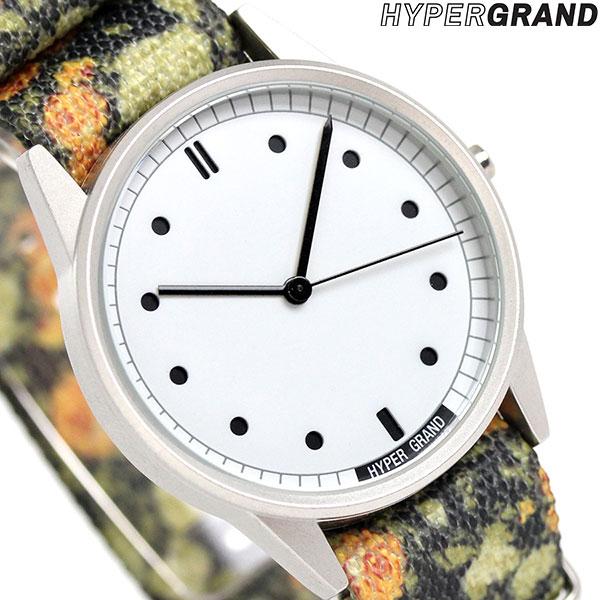 ハイパーグランド HYPERGRAND ゼロワンナトー 38mm NW01GASK メンズ レディース 腕時計 [新品][1年保証][送料無料]