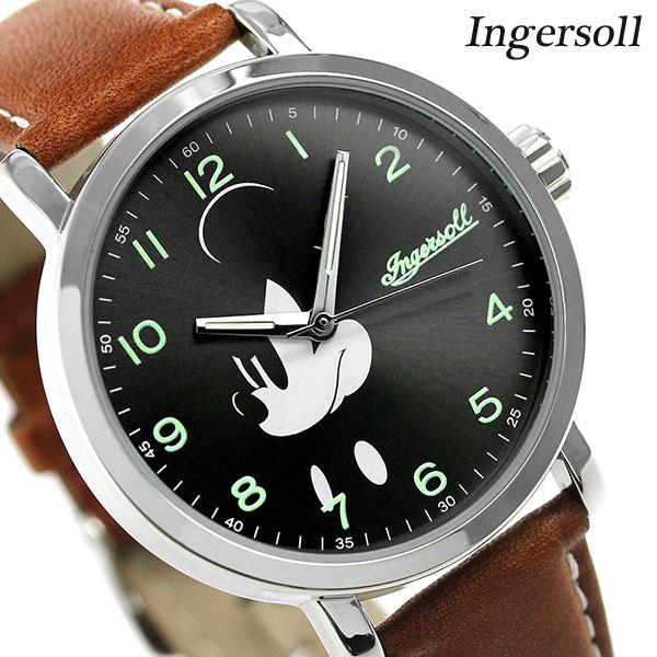 ディズニー ミッキー クラシック タイム コレクション DIN007SLBR インガソール 腕時計