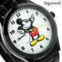 ディズニー ミッキー クラシック タイム コレクション ZR26438 インガソール 腕時計 ホワイト×ブラック