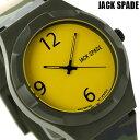 ジャックスペード グラフィック パターン 40mm WURU0012 JACK SPADE メンズ 腕時計 イエロー×カモフラージュ 時計【あす楽対応】