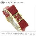 ケイトスペード ニューヨーク ケンマール 腕時計 1YRU0902 KATE SPADE NEW YORK レディース レッド