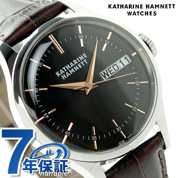 キャサリン ハムネット イングリッシュスリック 日本製 KH20G434 KATHARINE HAMNETT 腕時計【対応】 [新品][7年保証][送料無料]