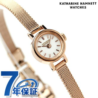 Katharine Hamnett ladies KH7711-B04 KATHARINE HAMNETT watch made in Japan small round Quartz White x pink