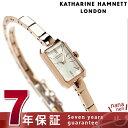 キャサリン ハムネット レクタングル 日本製 レディース KH8704-B14 KATHARINE HAMNETT 腕時計 クオーツ シルバー×ピンクゴールド