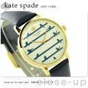 ケイトスペード ニューヨーク メトロ レディース 腕時計 KSW1022 KATE SPADE NEW YORK クリーム×ネイビー【あす楽対応】