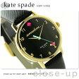 ケイトスペード ニューヨーク メトロ 34mm レディース KSW1039 KATE SPADE NEW YORK 腕時計 ブラック【あす楽対応】