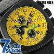 ルミノックス トニー カナーン クロノグラフ メンズ 1105 LUMINOX 腕時計 クオーツ イエロー×ブラック