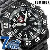 ルミノックス ネイビー シールズ カラーマークシリーズ 3052 LUMINOX メンズ 腕時計 クオーツ オールブラック×ホワイト【あす楽対応】