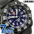 ルミノックス スコット キャセル スペシャル デイト 腕時計 ブルー×ブラックラバー LUMINOX 3054