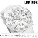 ルミノックス LUMINOX ネイビー シールズ スノーパトロール 3057 ホワイトアウト 腕時計 ラバーベルト WHITE OUT 3057.WO