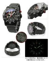 ルミノックス腕時計ダイブクロノグラフシリーズオールブラックLUMINOX8362.RP