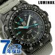 ルミノックス フィールド スポーツ リーコン ポイントマン マイル 腕時計 ブラック×グレーナイロン LUMINOX 8824MI
