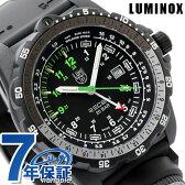 ルミノックス リーコン ナビゲーション スペシャリスト 腕時計 メンズ マイル オールブラック×グリーン LUMINOX 8832.mi【あす楽対応】