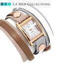 ラメール コレクション レザー レディース 腕時計 LMLWMIX1008 LA MER アイスランディック