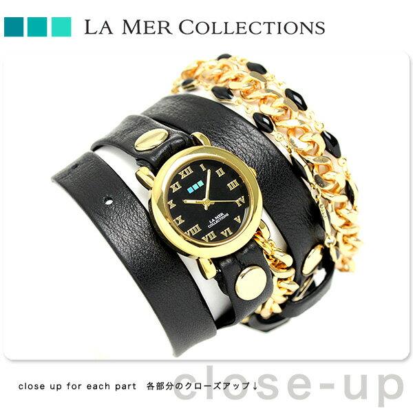 ラメール コレクション レザー レディース 腕時計 LMMULTI2016 LA MER アイスランディック [新品][2年保証][送料無料]