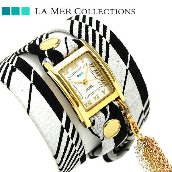 ラメール コレクション レザー レディース 腕時計 LMTASSLE001D LA MER アイスランディック【対応】 [新品][2年保証][送料無料]