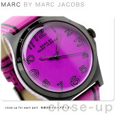 マーク バイ マーク ジェイコブス ヘンリー トロンプ 時計 パープル×ブラック レザーベルト MARC by MARC JACOBS MBM1232
