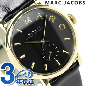 Mark by Mark Jacobs Baker watches small seconds ladies black leather belt MARC by MARC JACOBS MBM1269
