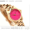 マークバイマークジェイコブスヘンリーディンキー時計レディースピンク×ピンクゴールドMARCbyMARCJACOBSMBM3203【あす楽対応】