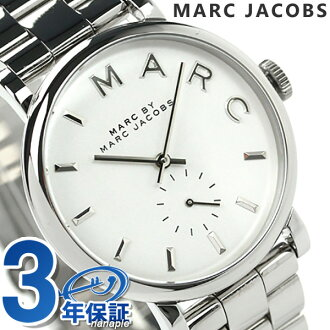 Mark by Mark Jacobs Baker watches small seconds ladies white MARC by MARC JACOBS MBM3242