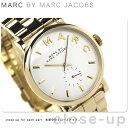 マーク バイ マーク ジェイコブス ベイカー 時計 スモールセコンド レディース ホワイト×ゴールド MARC by MARC JACOBS MBM3243