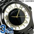 マーク バイ マーク ジェイコブス ヘンリー スケルトン 時計 レディース ブラック MARC by MARC JACOBS MBM3255【あす楽対応】