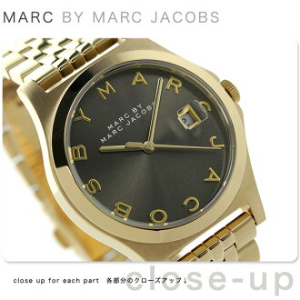 Mark by Mark Jacobs the slim 37 mm MBM3349 MARC by MARC JACOBS women's watch quartz Brown x Gold