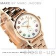 マーク バイ マーク ジェイコブス ベイカー 28 レディース MBM3443 腕時計 ホワイト×ピンクゴールド