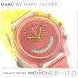 マーク バイ マーク ジェイコブス レイバー クロノグラフ MBM4576 MARC by MARC JACOBS レディース 腕時計 クオーツ ピンク×イエロー