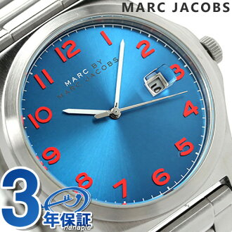 Mark by MARC BY marc jacobs Jimmy men watch MBM5058 MARC by MARC JACOBS quartz blue
