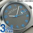 マーク バイ マーク ジェイコブス ジミー メンズ 腕時計 MBM5061 MARC by MARC JACOBS クオーツ グレー レザーベルト