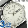 マーク バイ マーク ジェイコブス ファーガス メンズ MBM5076 MARC by MARC JACOBS 腕時計 クオーツ ホワイト×ブラック