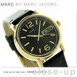 マーク バイ マーク ジェイコブス ファーガス 38mm MBM8651 MARC by MARC JACOBS ボーイズサイズ 腕時計 ブラック×ゴールド