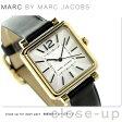 マーク ジェイコブス ヴィク 30 レディース MJ1437 腕時計 シルバー×ブラック【あす楽対応】