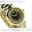 マーク バイ マーク ジェイコブス ドッティ 34 レディース MJ3448 MARC by MARC JACOBS 腕時計 ブラック×ゴールド【あす楽対応】