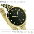 マーク バイ マーク ジェイコブス サリー 36 レディース MJ3454 MARC by MARC JACOBS 腕時計 ブラック×ゴールド【あす楽対応】