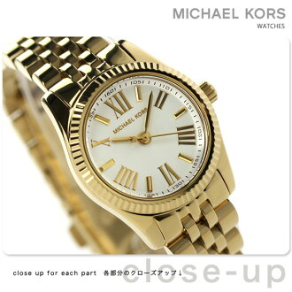 Michael course Petit Lexington ladies watches MK3229 MICHAEL KORS Quartz White / Gold