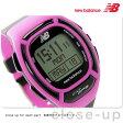 ニューバランス GPS ランニングウォッチ メンズ 腕時計 EX2-906-101 new balance クオーツ ブラック×ピンク【あす楽対応】