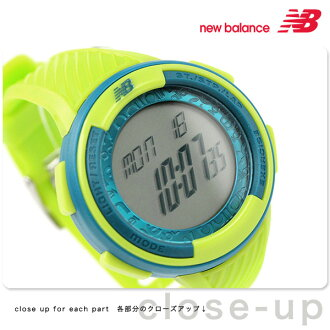 New balance watches running watch digital ST-507 lime green new balance ST-507-005