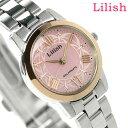 シチズン Q&Q リリッシュ ソーラー レディース H039-900 CITIZEN Lilish 腕時計 ピンク