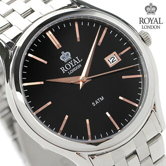 Royal London men's watch quartz 41187-02 ROYAL LONDON black