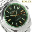 ロレックス オイスター パーぺチュアル ミルガウス 116400 ROLEX 腕時計 自動巻き ブラック【あす楽対応】