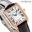 サントノーレ マンハッタン スイス製 レディース SN7220058AFR SAINT HONORE 腕時計 クオーツ シルバー×ブラウン レザーベルト